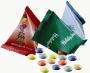 פרמידה - סוכריות עדשים ממותגות