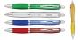 עט מעוגל צבעוני עם שילובי מתכת
