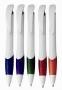 עט לבנה עם שילוב צבע