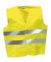אפוד זוהר  וסט בטיחות צהוב