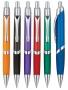 לילי עט כדורי גוף צבעוני עם שילובי מתכת