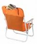 כיסא ים מתקפל עם הדפסת הלוגו שלך
