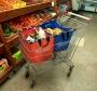 סל מיוחד לעגלת קניות