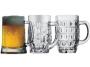 """כוס בירה חצי ליטר עם ידית בנפח 500 מ""""ל"""