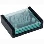סט תחתיות חמסה מזכוכית