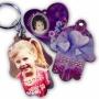 מחזיק מפתחות חמסה עם תמונה אישית צבעונית