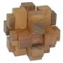 פאזל חשיבה 12 חלקים מעץ