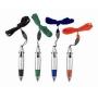 עטים נתלים עם מילוי ב4 צבעים שונים לפרסום