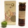 חבילת שי אישית לראש השנה עם צנצנת מעדן פירות ברימון
