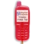 סוכריה בעיצוב אישי בצורת טלפון נייד (פלאפון) עם הדפסה